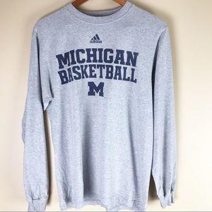 Women's Adidas University of Michigan Tee